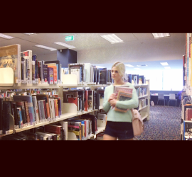 Running away from library security